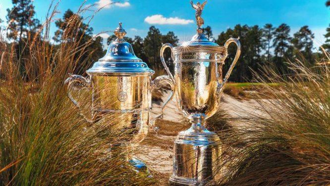 Trofeos del US Open © USGA