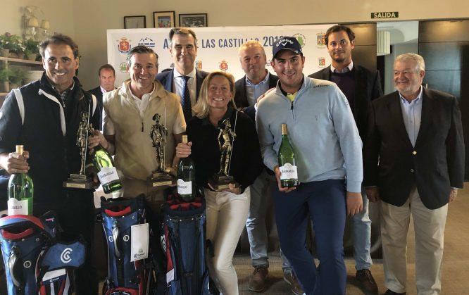 Luca Cianchetti y su equipo, ganadores del Pro-Am del Alps de las Castillas.