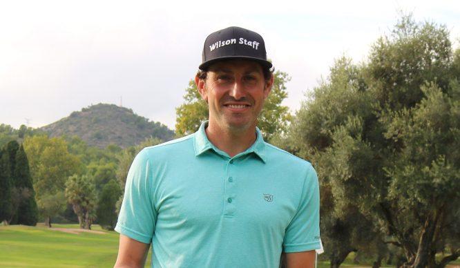 Alfredo García Heredia, líder en solitario tras la segunda jornada en Golf Ciudad Real.