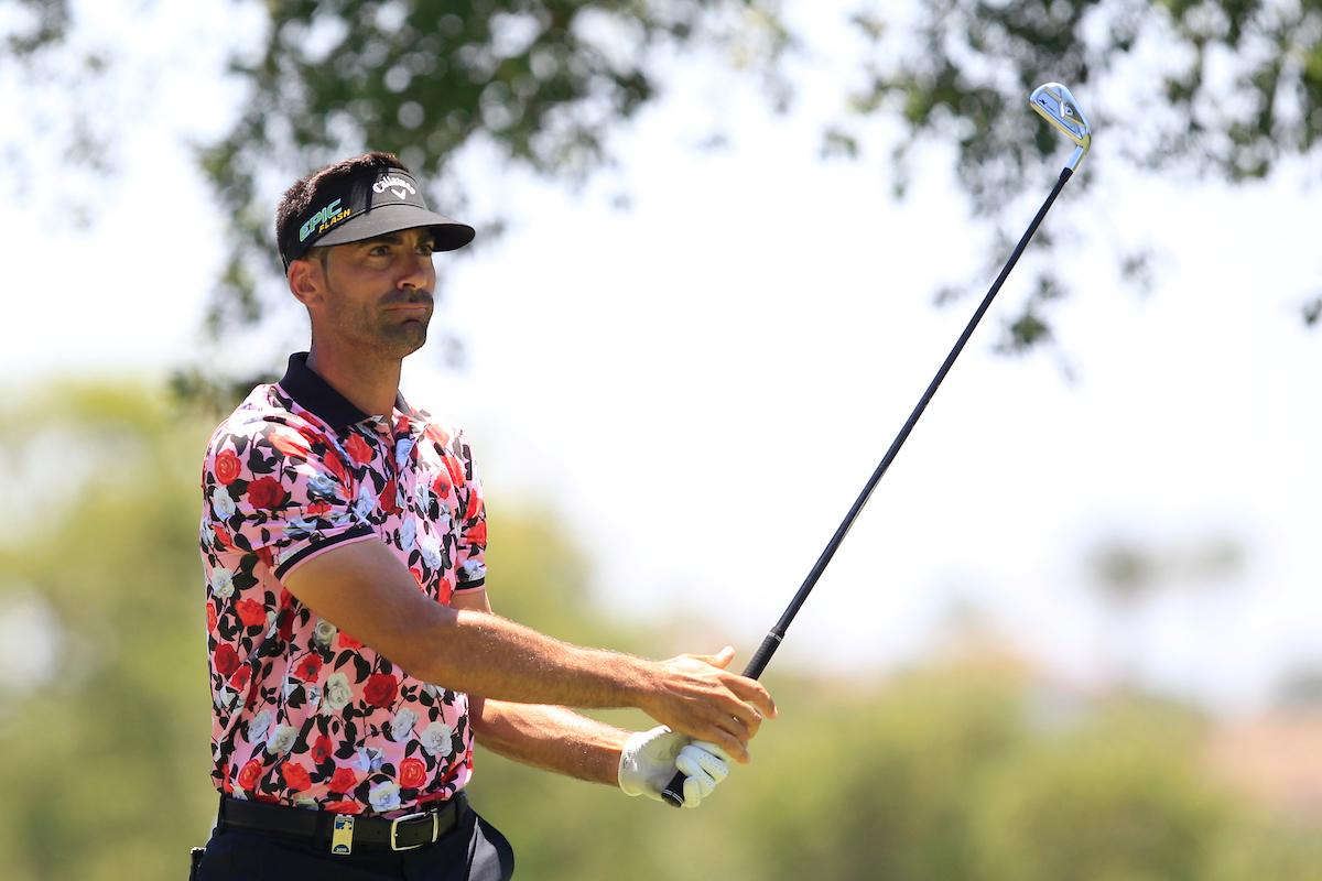 Álvaro Quirós en la jornada del sábado en el Real Club Valderrama. © Golffile   Thos Caffrey