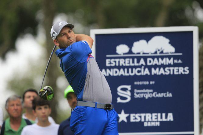 Sergio García esta semana en Valderrama. © Golffile | Thos Caffrey