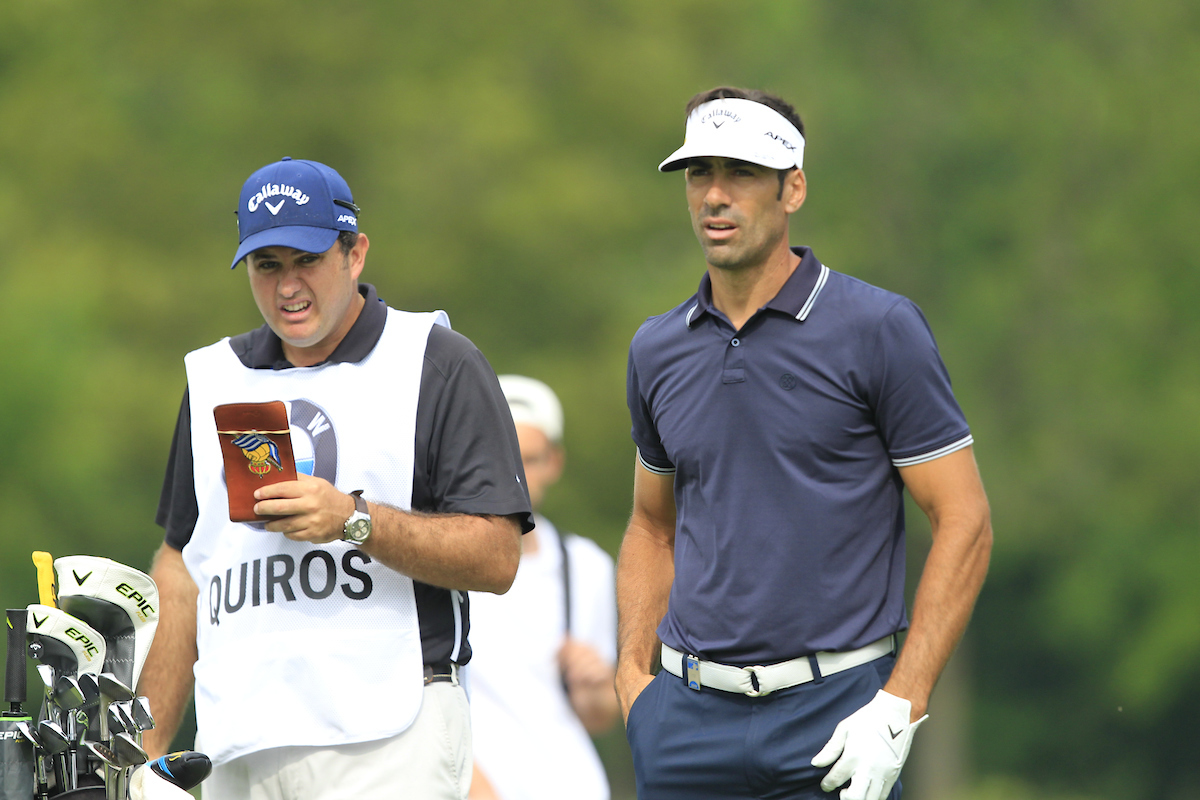 Álvaro Quirós. (© Golffile | Thos Caffrey)