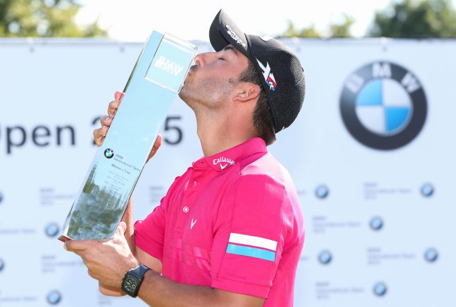 Pablo Larrazábal, ganador del BMW International Open 2015. © Golffile | David Lloyd