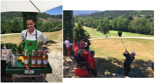 El sábado, los asistentes degustaron, de la mano de Tanqueray, su nueva ginebra Flor de Sevilla mientras se disputó el concurso de approach al green del 3.