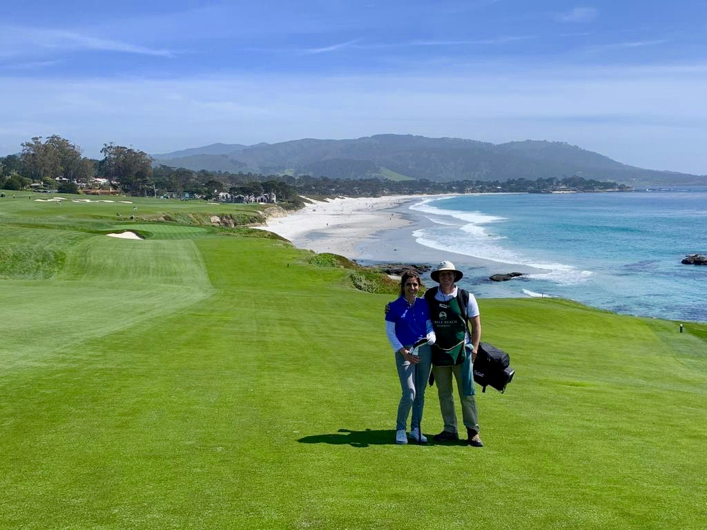 Hoyo 9 de Pebble Beach.