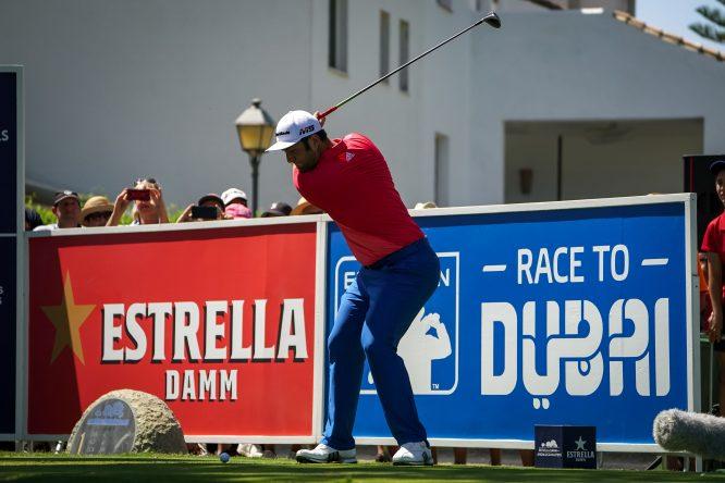 Jon Rahm en la tercera jornada del Estrella Damm Andalucía Masters. ©RC Valderrama