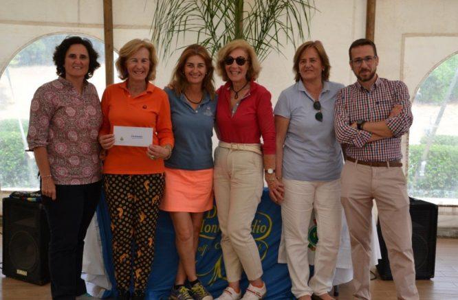 Las ganadoras de la Final del Circuito Femenino de Andalucía. © RFGA
