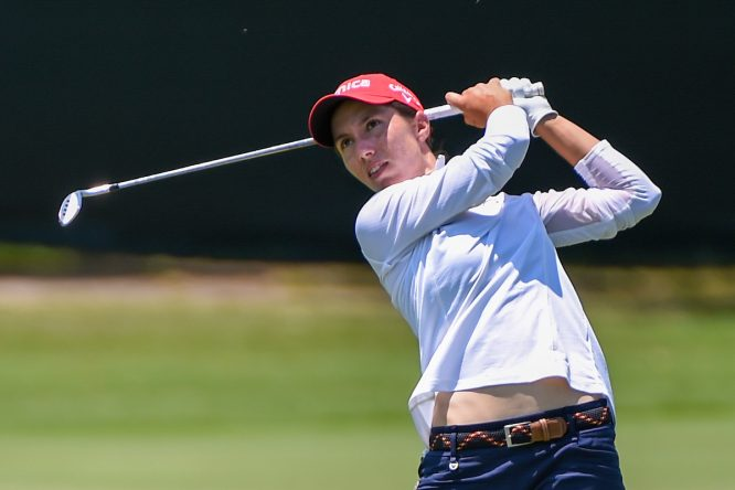 Carlota Ciganda, en el US Women's Open © Golffile | Ken Murray