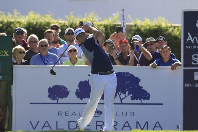 Jon Rahm en el Andalucía Valderrama Masters 2017. © Golffile | Eoin Clarke