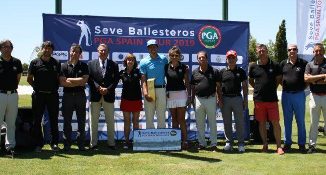 Alfredo García Heredia, ganador del Seve Ballesteros PGA Spain Tour 2019 en Ciudad Real.