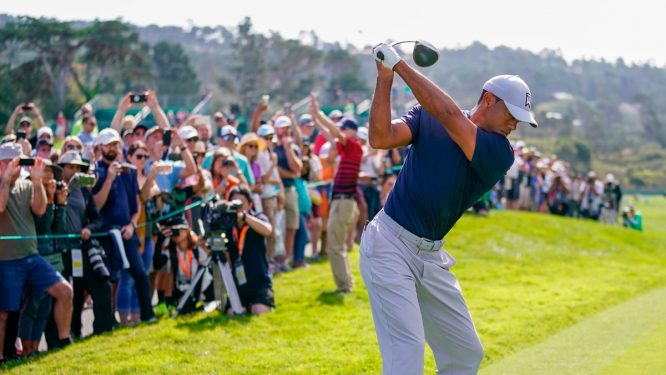Tiger Woods, en Pebble Beach © USGA