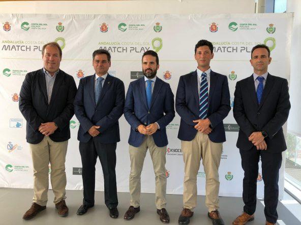 Presentación del Andalucía Costa del Sol Match Play 9.