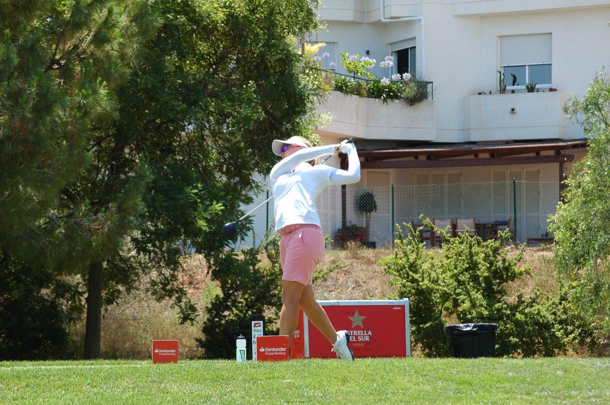 Manon de Roey durante la segunda ronda en Valencia.
