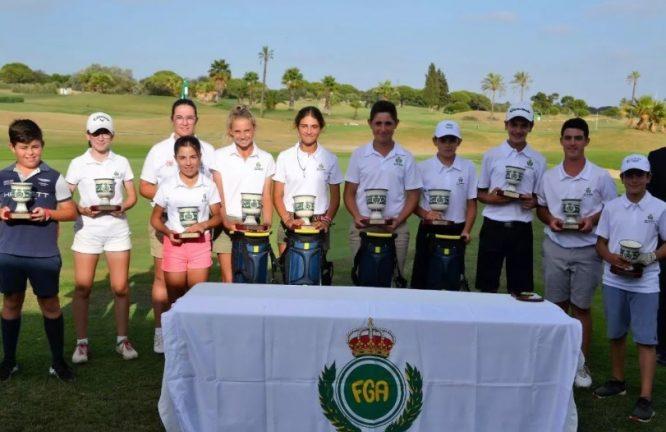Campeonatos de Andalucía Infantil, Alevín y Benjamín.