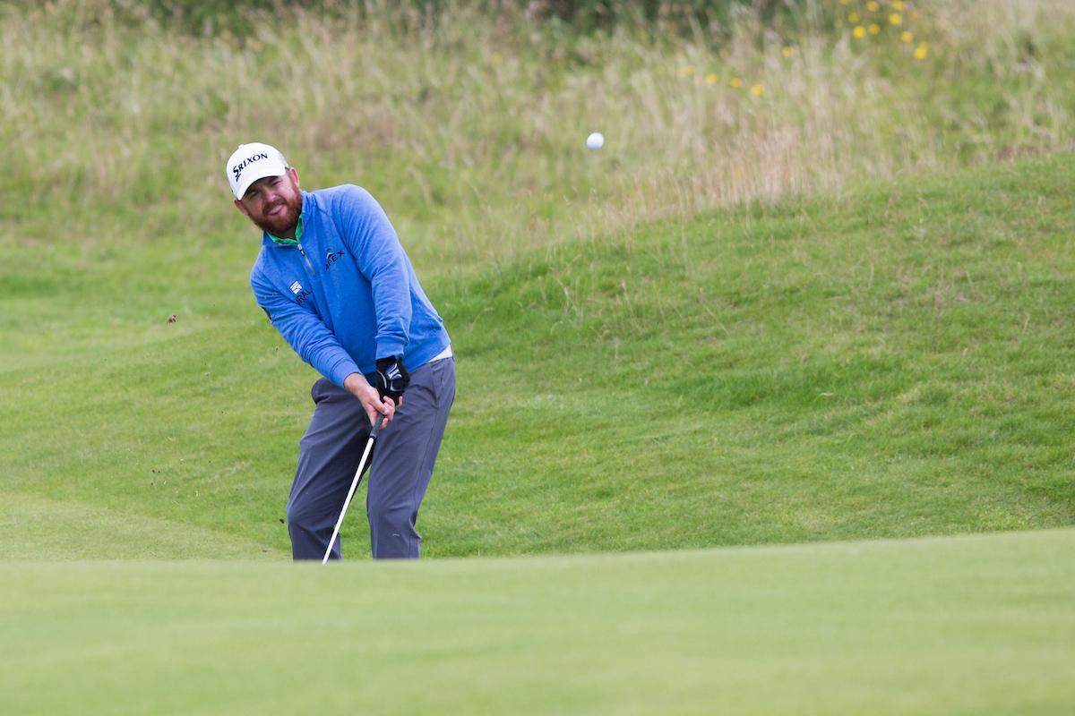 JB Holmes en la segunda jornada del Open. © Golffile | Thos Caffrey