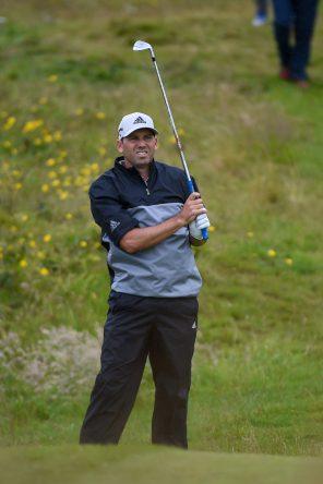 Sergio García esta semana en el Open Championship. © Golffile | Ken Murray