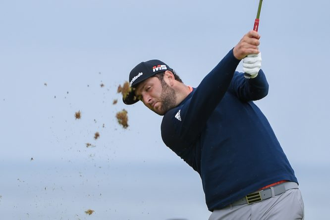 Jon Rahm, en el Open. Golffile | Ken Murray