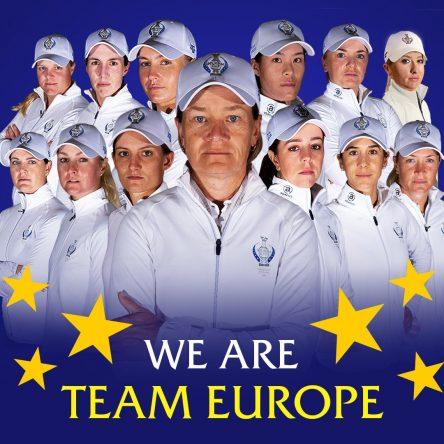 Equipo europeo de la Solheim Cup