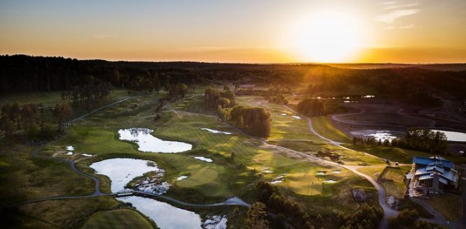 Vista del Hills Golf & Sports Club, sede esta semana del Scandinavian Invitation.