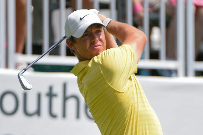 Rory McIlroy durante el TOUR Championship 2019. © Golffile | Ken Murray