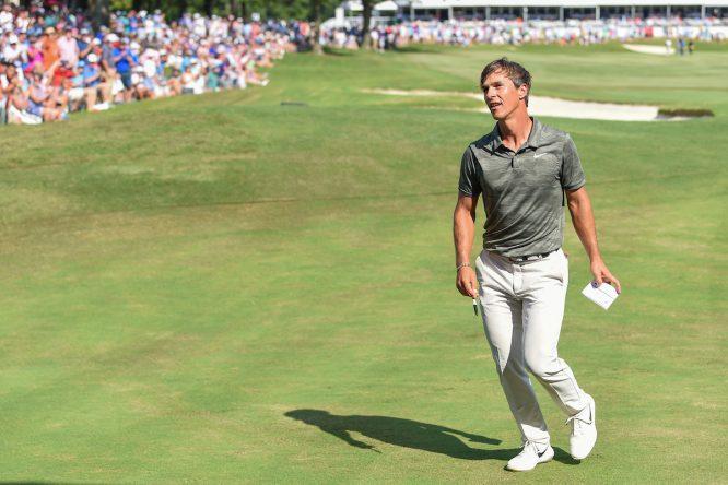Olesen, en el WGC FedEx St. Jude Invitational © Golffile | Ken Murray