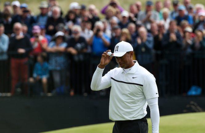 Tiger Woods, en el The Open © Golffile   David Lloyd