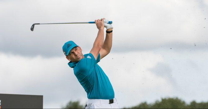 Sergio García en el hoyo 7 de The International durante la segunda jornada del KLM Open. © Golffile | Stefano Di Maria