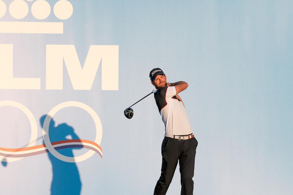 Scott Jamieson , líder del KLM Open, en la segunda ronda. © Golffile | Stefano Di Maria