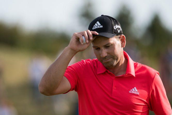 Sergio García durante la tercera jornada del KLM Open. © Golffile | Stefano Di Maria