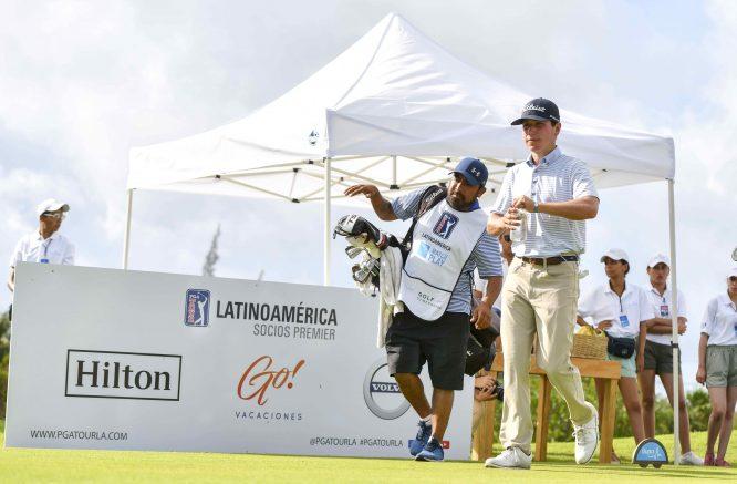 Patrick Flavin durante la segunda ronda del Bupa Match Play en Playa Paraíso Golf Club. © Enrique Berardi/PGA TOUR