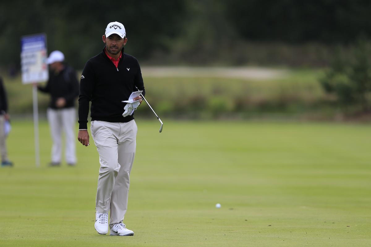 Pablo Larrazábal en la primera ronda en Hamburgo. © Golffile | Fran Caffrey