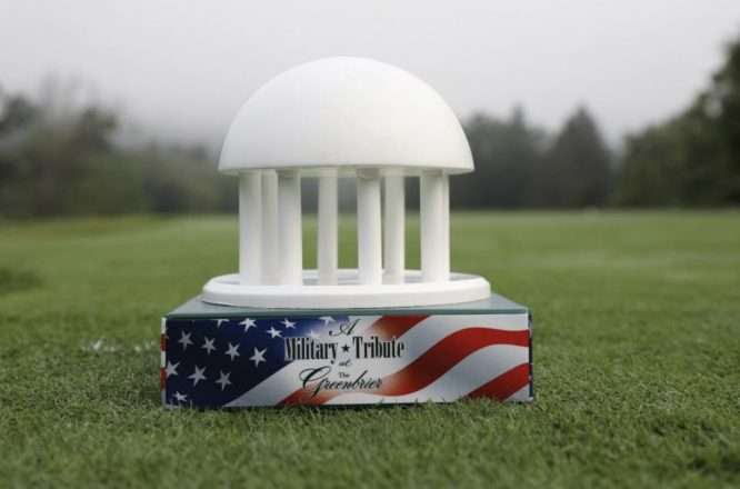 A Military Tribute at The Greenbrier © PGA Tour