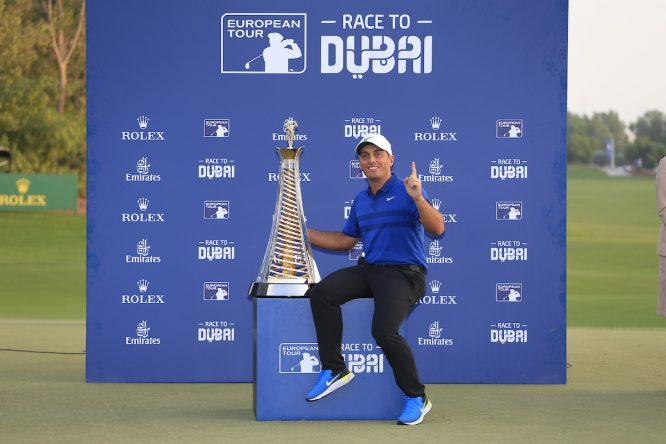 Molinari, ganador de la Race to Dubai 2018 © Golffile | Fran Caffrey