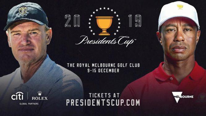Cartel promocional de la Presidents Cup