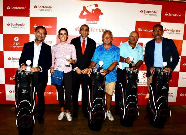 Ganadores del PRO AM del Santander Golf Tour en Lerma.