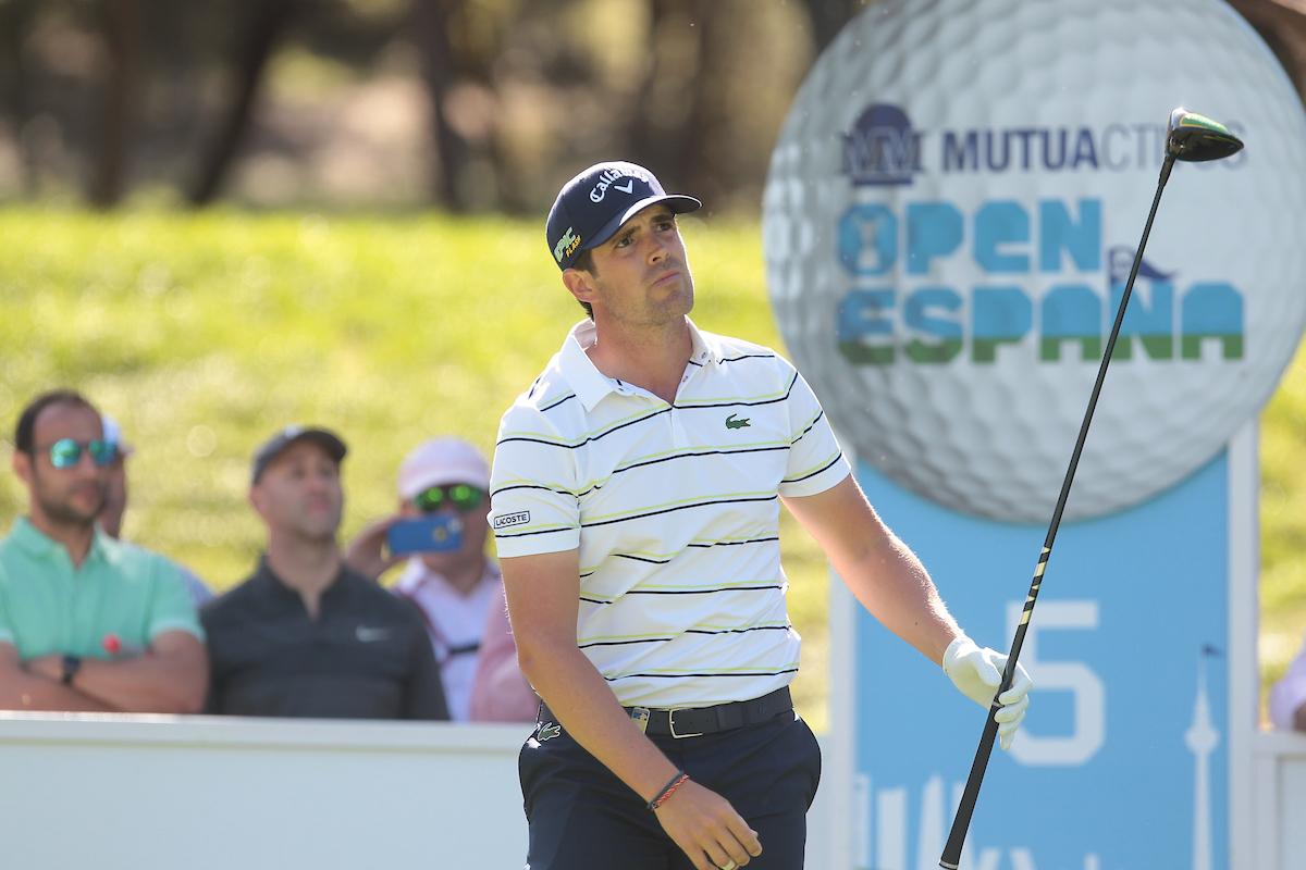 Nacho Elvira esta semana en el Club de Campo Villa de Madrid. © Golffile | Hugo Alcalde