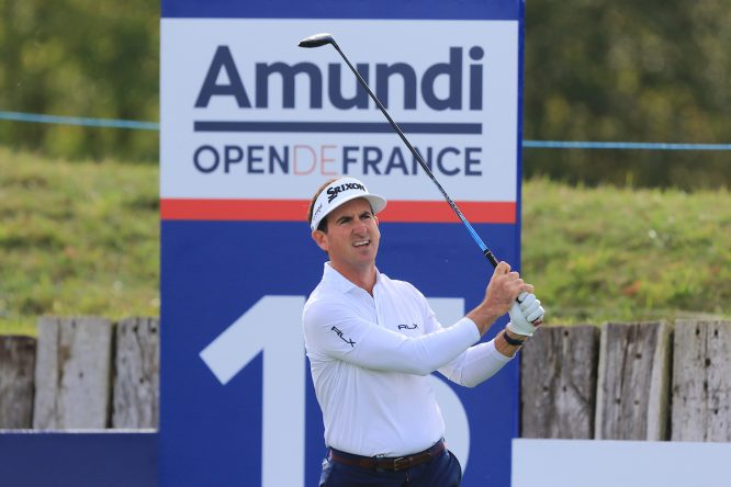Gonzalo Fernández Castaño en la primera ronda en Le Golf National. © Golffile | Thos Caffrey