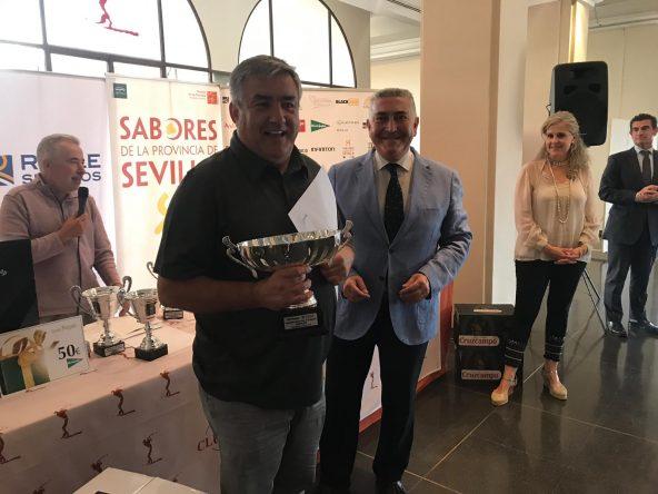 José Miguel Fernández Cuadrado, ganador absoluto scratch del VIII Campeonato de Golf de los Periodistas Deportivos de Andalucía, Trofeo REALE Seguros.