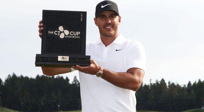Koepka, ganador del torneo el pasado año © PGA Tour