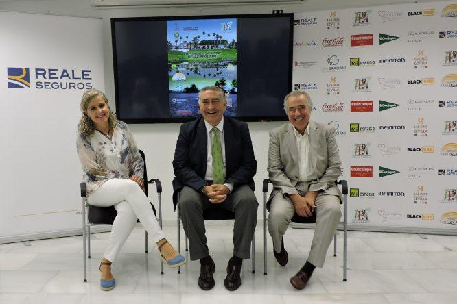 Presentación del VIII Campeonato de Golf de los Periodistas Deportivos de Andalucía Trofeo REALE Seguros.