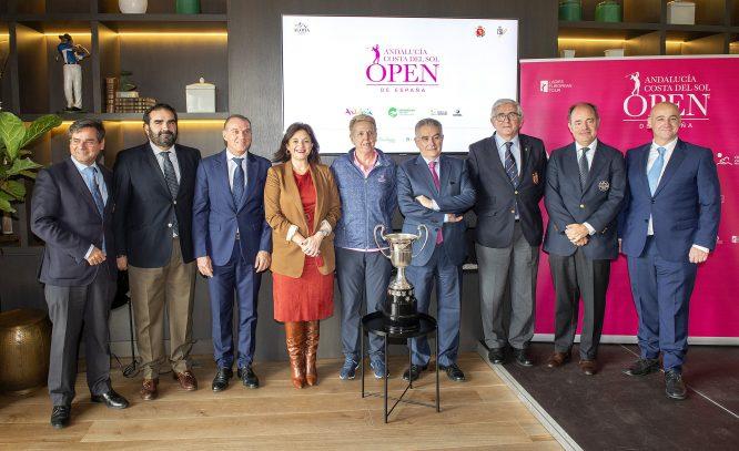 Rueda de prensa del Andalucía Costa del Sol Open de España Femenino 2019.