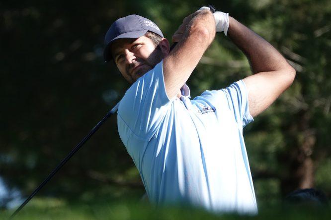 Jorge Campillo durante la primera ronda del Turkish Airlines Open. © Golffile | Phil Inglis)
