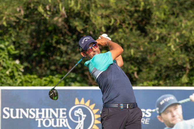 Pablo Larrazábal durante la primera jornada del Alfred Dunhill Championship. © Golffile | Shannon Naidoo