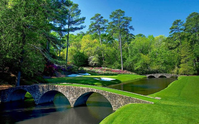 Hoyo 12 del Augusta National © The Masters