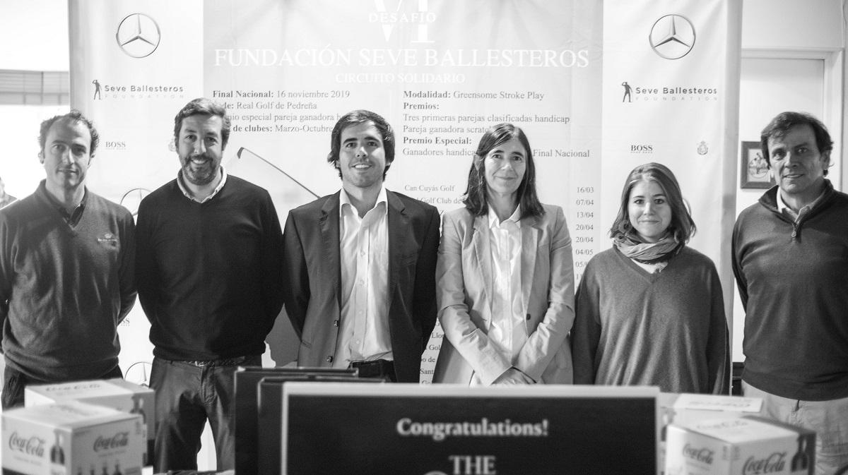 Mesa de entrega de premios presidida por Javier y Carmen Ballesteros. © Borja Pérez Lezama/Dug.company