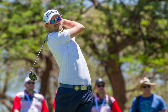 Bernd Wiesberger esta semana en el Gary Player Country Club. © Golffile | Tyrone Winfield