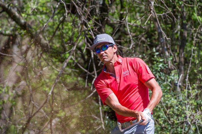 Rafa Cabrera Bello durante la tercera ronda del Nedbank Golf Challenge. © Golffile | Tyrone Winfield