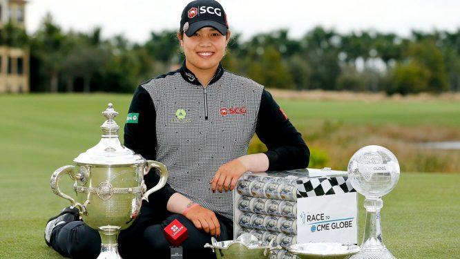 Ariya Jutanugarn, ganadora el pasado año © LPGA
