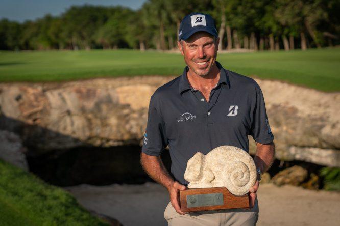 Matt Kuchar, ganador el pasado año © Mayakoba Golf Classic