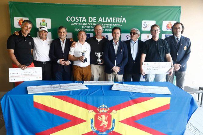 Costa de Almería Campeonato de España de Profesionales Senior 2019.